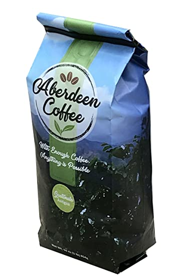 Guatemala Antigua Whole Beans Coffee, Fair Trade, Freshly Roasted 16oz