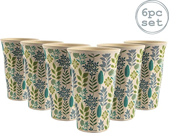 Bamboo cup set Gusto Colour series