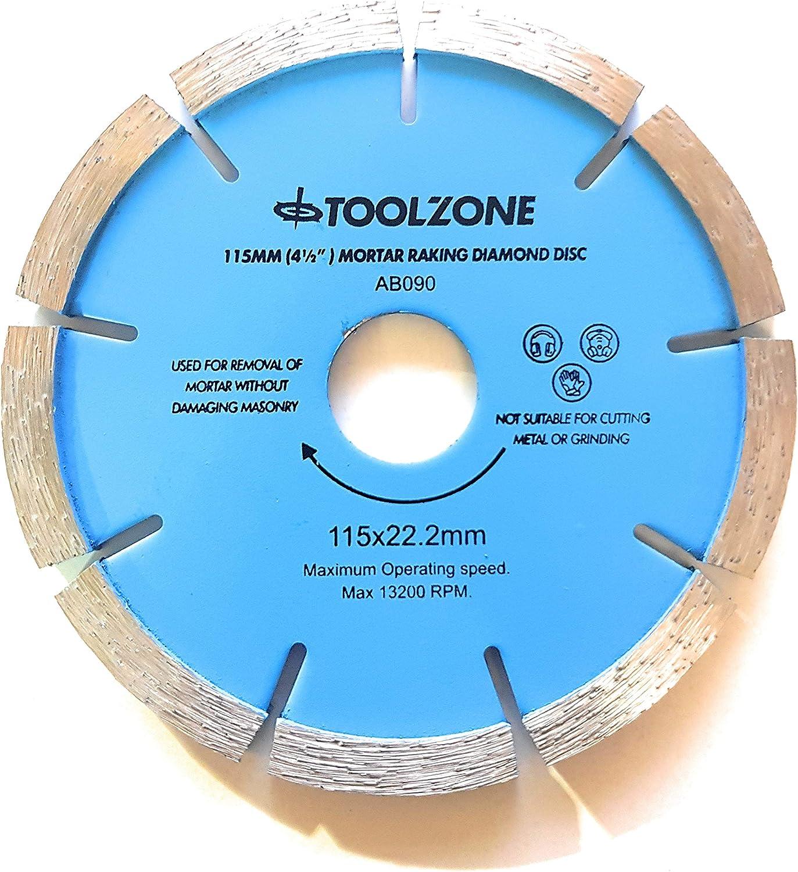 Herramienta para mortero concept disco de diamante 115 mm 11,43 cm molinillo