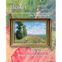 Monet: Meadow with Poplars, 1875 (Paint the Masterworks Book 5)