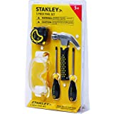 Stanley Jr. 5-Piece Kids Tool Set with Real Tools for Kids - Construction Tools for Pretend Play or Actual Woodwork…