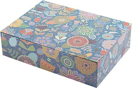 Creibo CBOX006 - Caja Cartón Grande Decorada: Amazon.es: Hogar