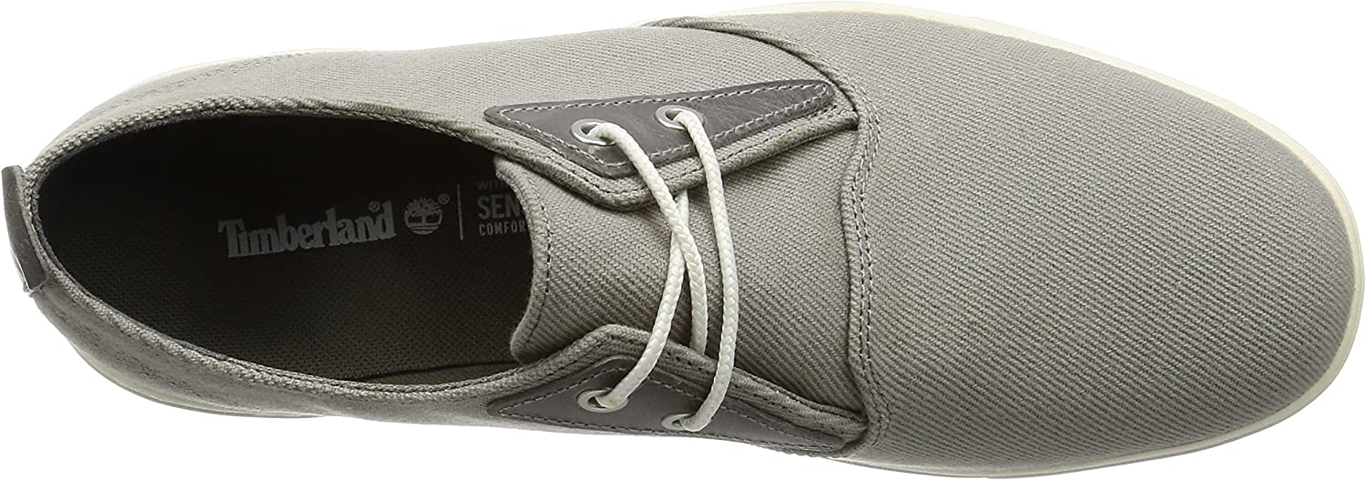 Timberland Amherst Ptosteeple Grey Cotton Canvas, Oxford Homme Gris (Steeple Grey Cotton Canvas)