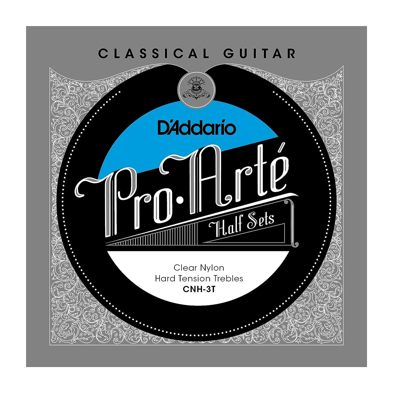 D'Addario CNH-3T Nylon Classical Guitar Strings, Heavy D'Addario