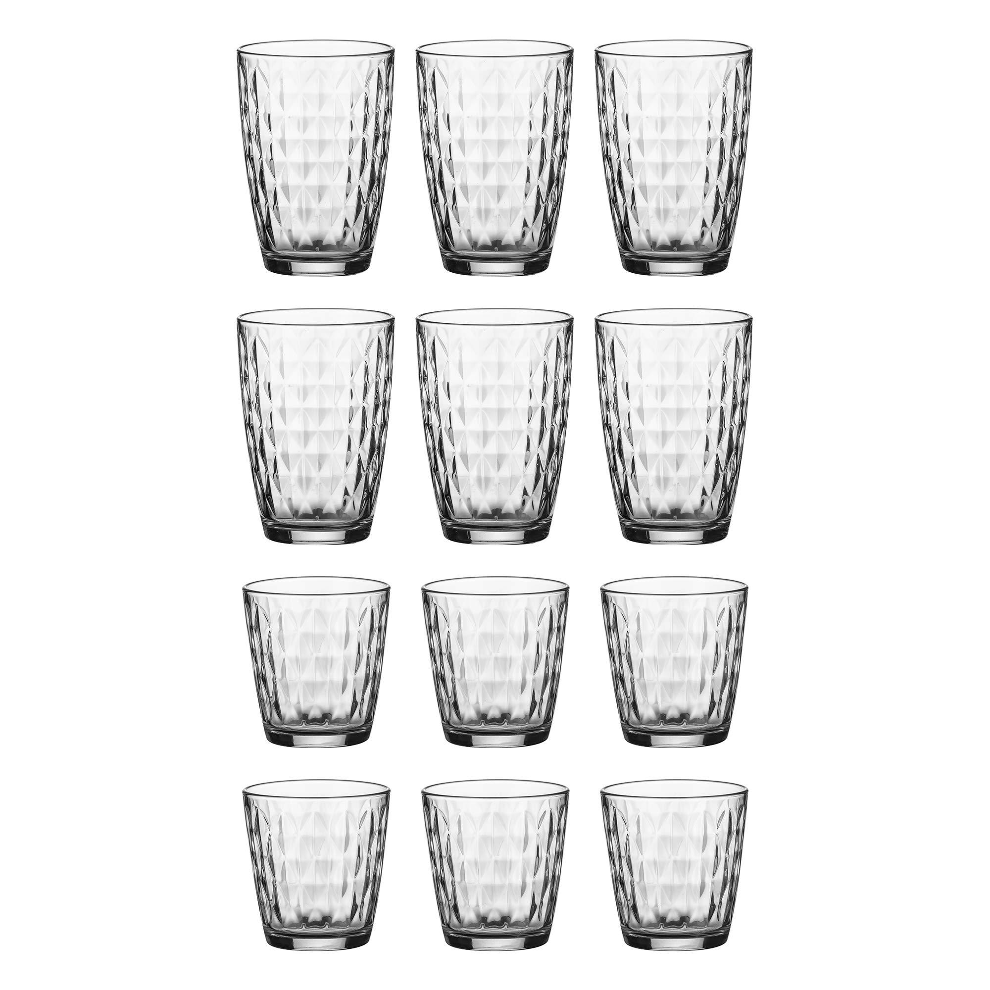 Ravenhead 0040.482 Essentials 12 Piece Jewel Tumbler Set, Glass by Ravenhead