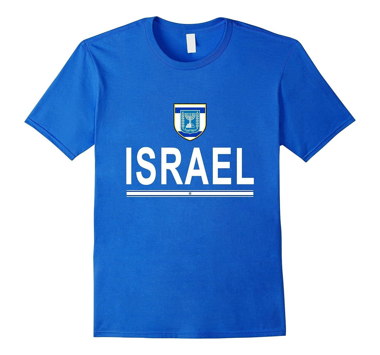 76c0dbf3a Israel Soccer T-Shirt - Israeli Football Jersey 2016-TH - TEEHELEN