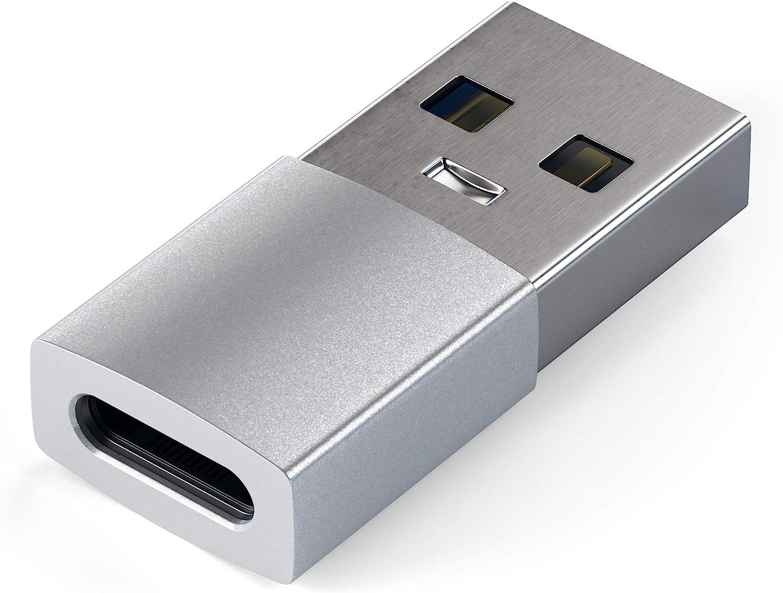 Satechi Adaptador Convertidor USB-A Macho a USB-C Hembra