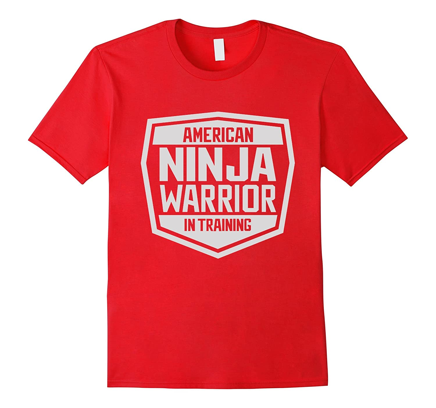 American-Ninja Warrior in Training Tee Shirt-BN
