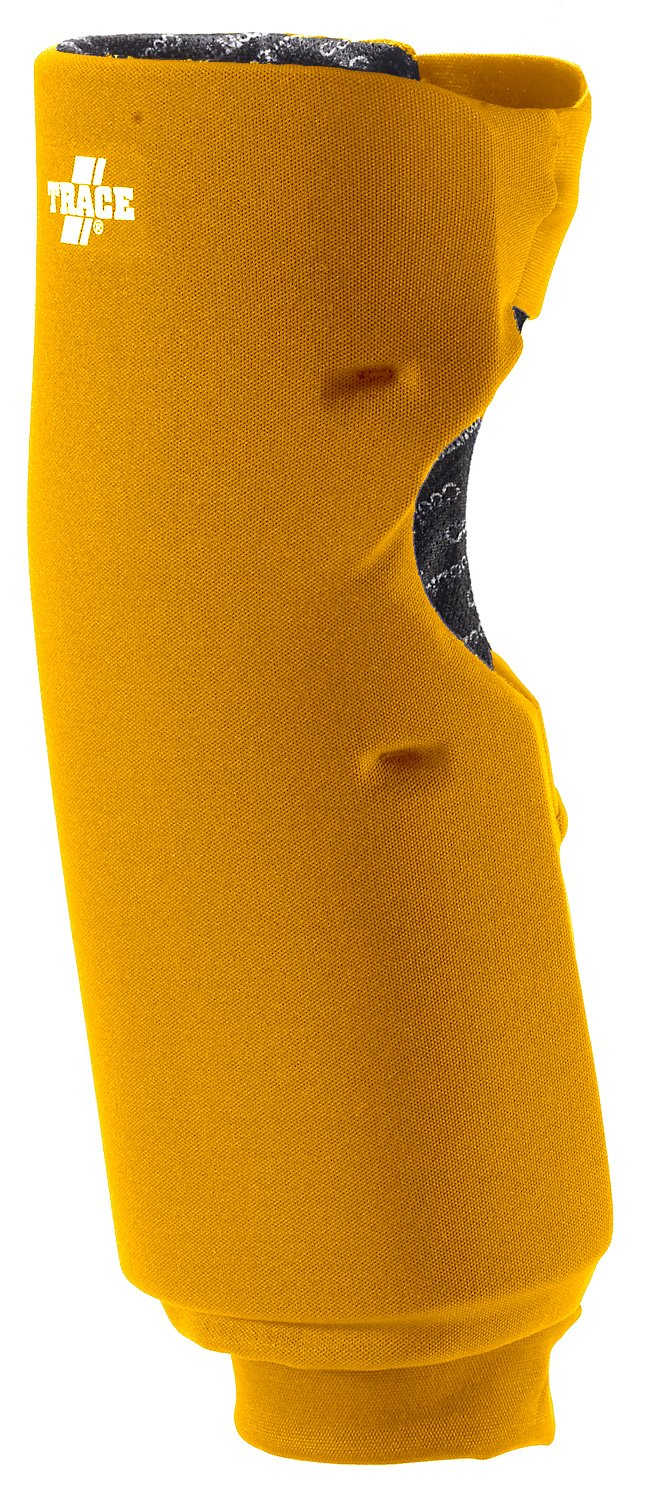 Adams USA Trace Long Style Softball Knee Guard (X-Small, Gold)