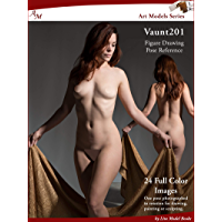Art Models Vaunt201: Figure Drawing Pose Reference (Art Models Poses) (English Edition)