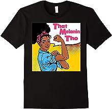 That Melanin Tho Pop Art Shirt - Black Owned Business