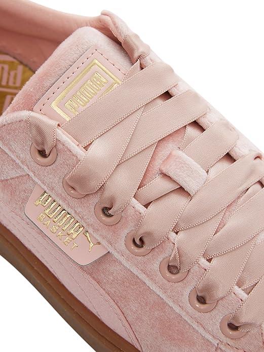 6977e36d6ec Puma Basket Platform Vs Trainers Pink  Amazon.co.uk  Shoes   Bags