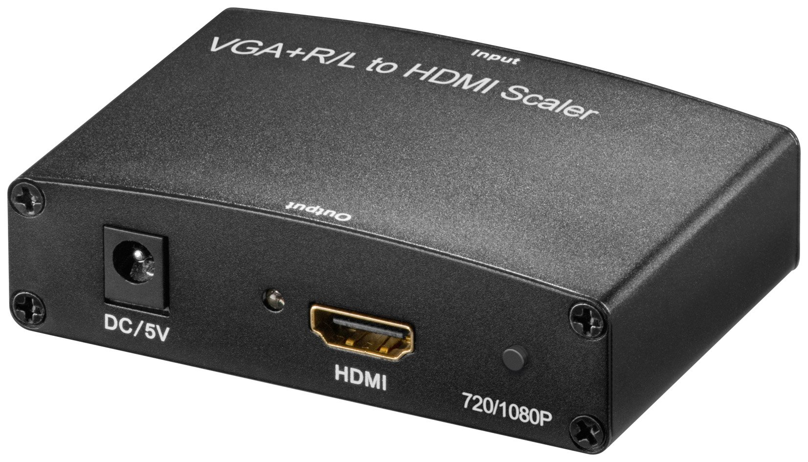 Wentronic 60726-GB VGA and R/L Audio AVS 49 HDMI Converter