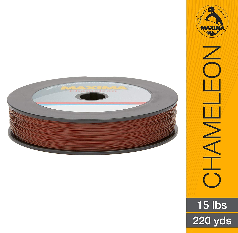 Maxima Chameleon Monofilament Line Filler Spool Test