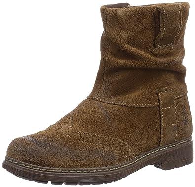Timberland Refined Rugged Ftk_Ek Amesbury, Boots fille - Marron (Dark Brown), 40 EU