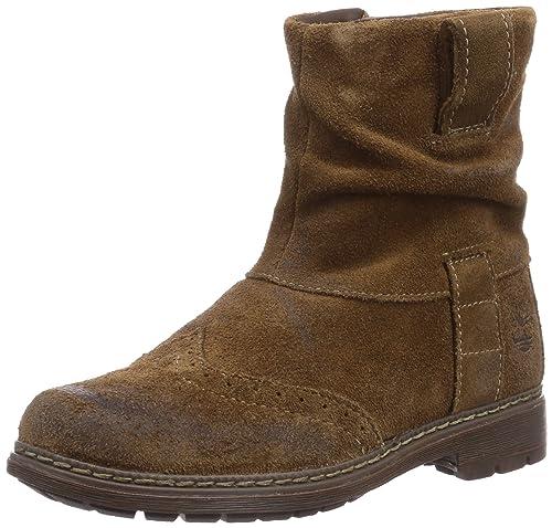 Timberland Amesbury, Botas para Niñas, Dark Brown, 40 EU: Amazon.es: Zapatos y complementos