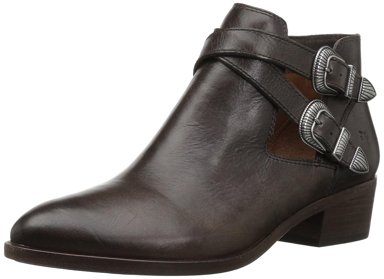 FRYE Women's Ray Western Shootie Ankle Boot B071JSNGQ6 10 B(M) US|Slate