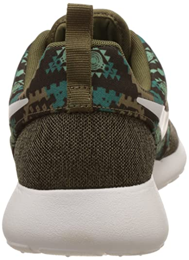 uk availability 3427a fdb9f Nike Men s Roshe One Print Iguana, Sail, Dark Loden, Bamboo, Radiant  Emerald, Green Glow Running Shoes -6 UK India (40 EU)(7 US)  Buy Online at  Low Prices ...