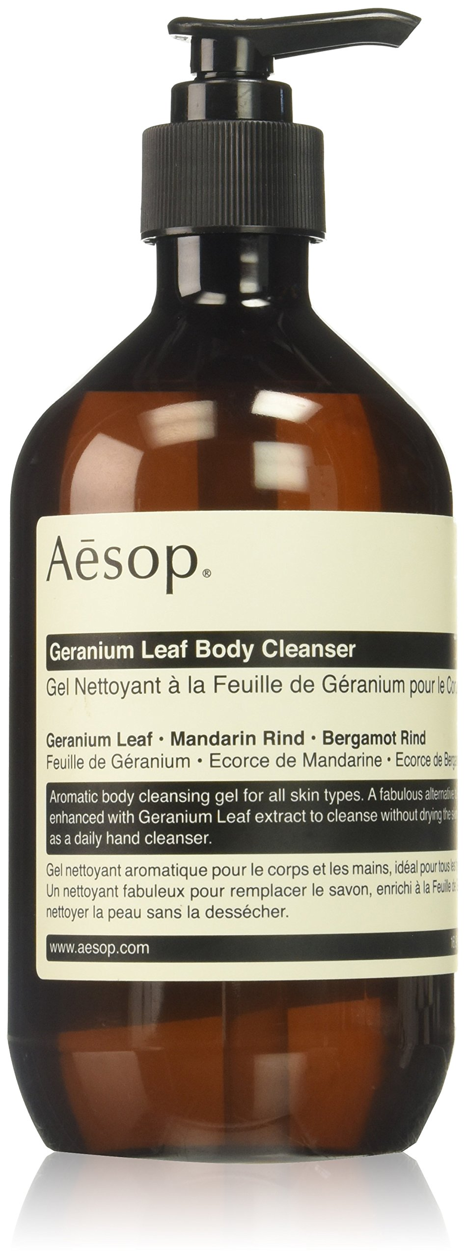 Aesop Geranium Leaf Body Cleanser, 16.9 Ounce by Aesop (Image #1)