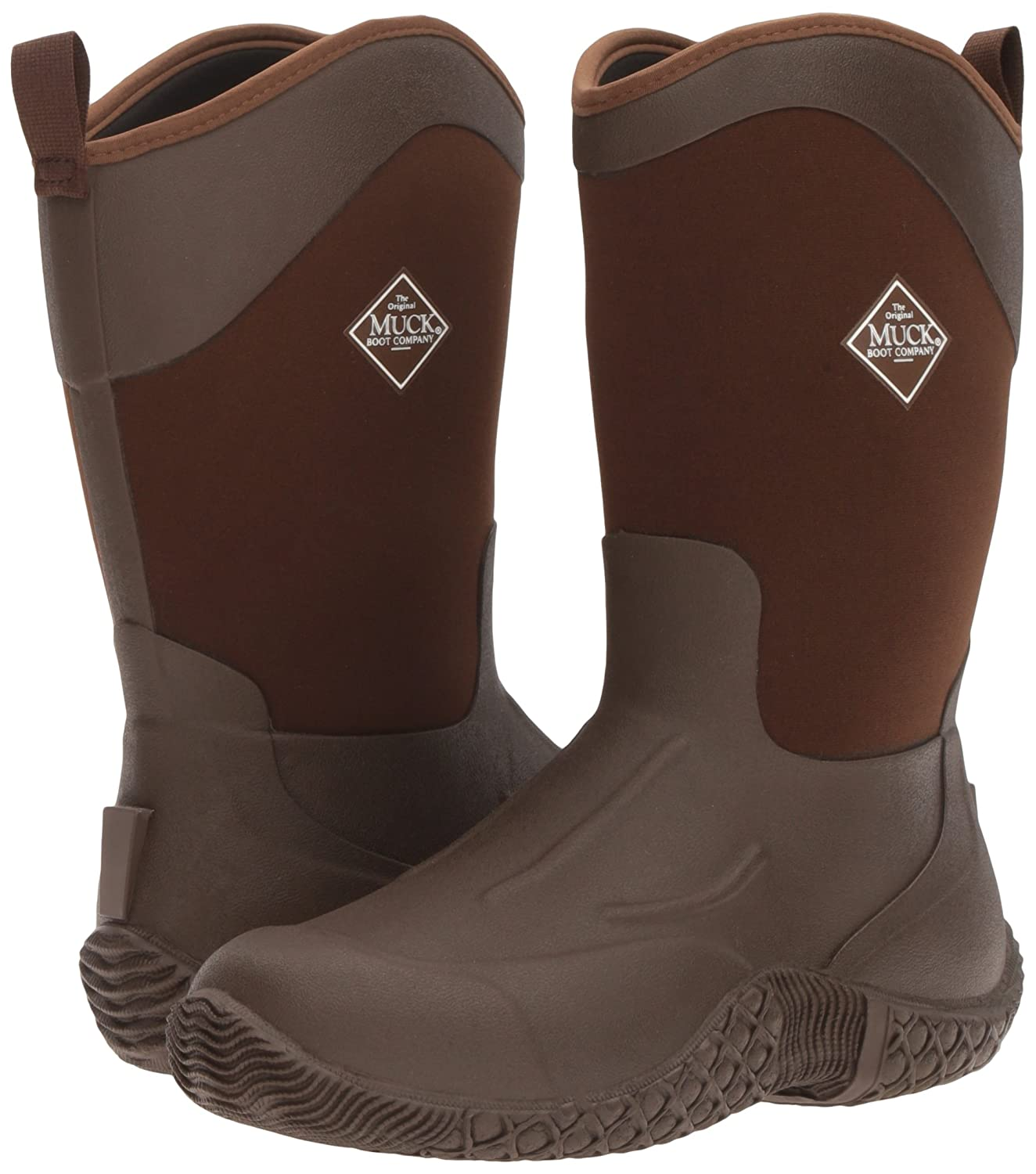 Muck Boot Women's Tack II Mid Snow B00TSRANOY 10 B(M) US|Brown