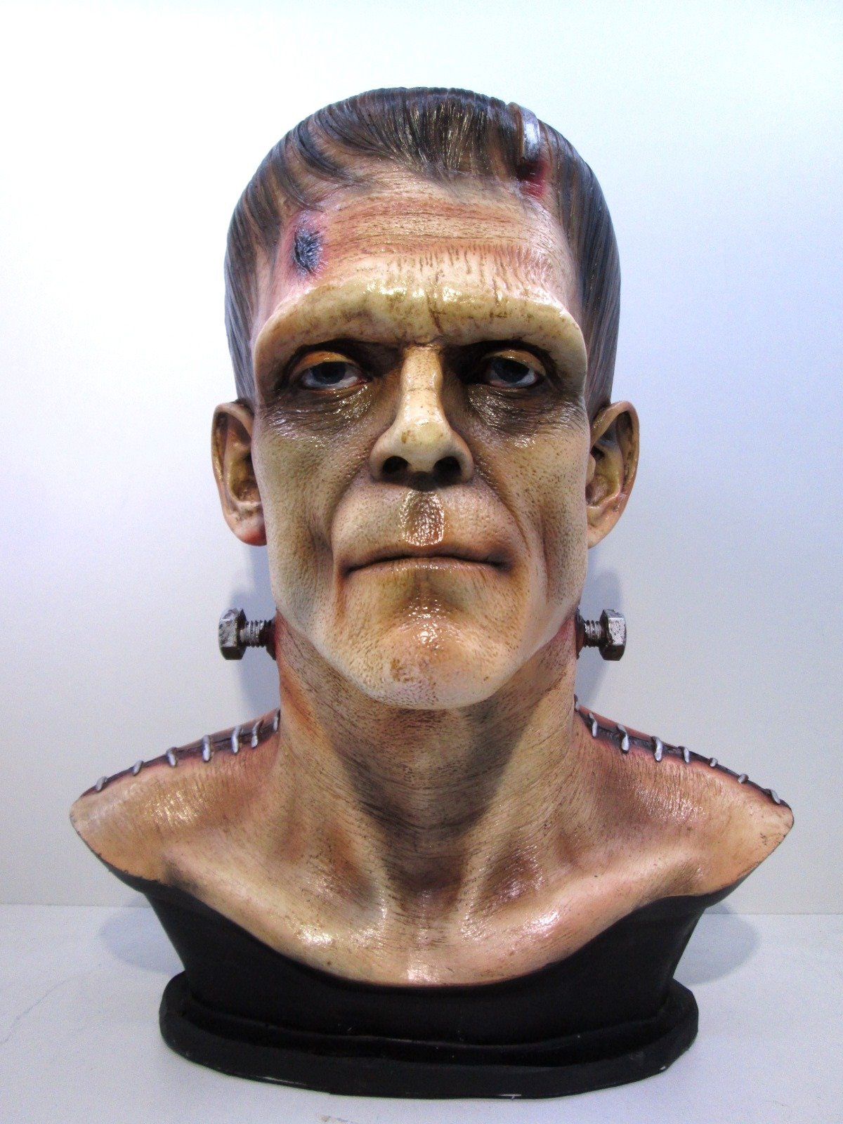1/1 Frankenstein Horror Side Show Classic Movie Bust Painted