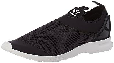 online retailer 1f9b3 5dcf0 Adidas - ZX Flux Adv Smooth Slip ON - S78957 Black-White 7 B ...