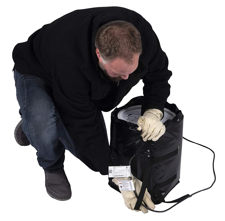 5 Gallon Bucket Heater or Pail Heater with Rapid-Ramp Heat Technology
