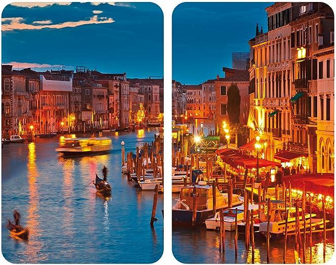 WENKO Placas cobertoras de vidrio universalesl Venice by ...
