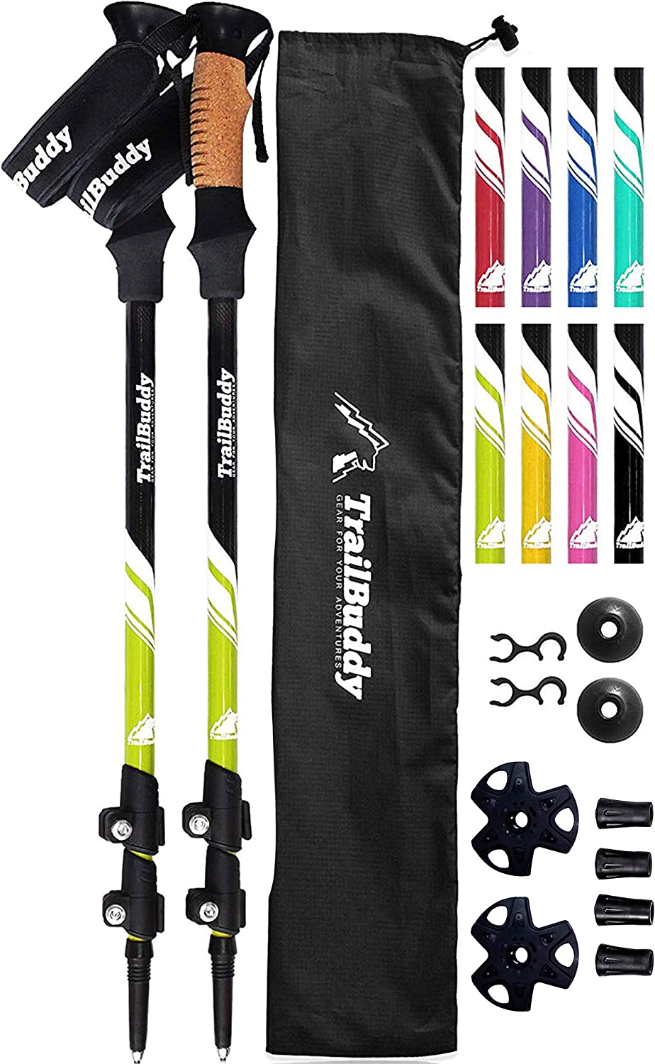 TrailBuddy Trekking Poles