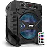 "Portable Bluetooth PA Speaker System - 300W Rechargeable Outdoor Bluetooth Speaker Portable PA System w/ 8"" Subwoofer, AUX, M"