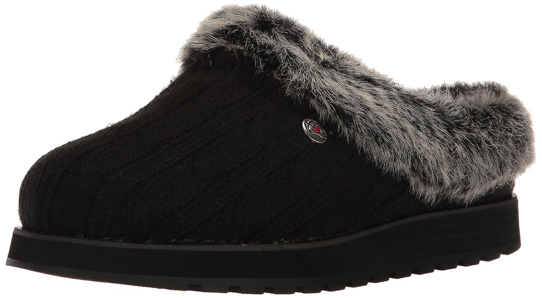 Pantofole Di Angelo Womens Mulo Di Ghiaccio Skechers Keepsakes Nero