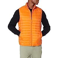 Amazon Essentials Men's Lightweight Water-Resistant Packable Puffer Vest