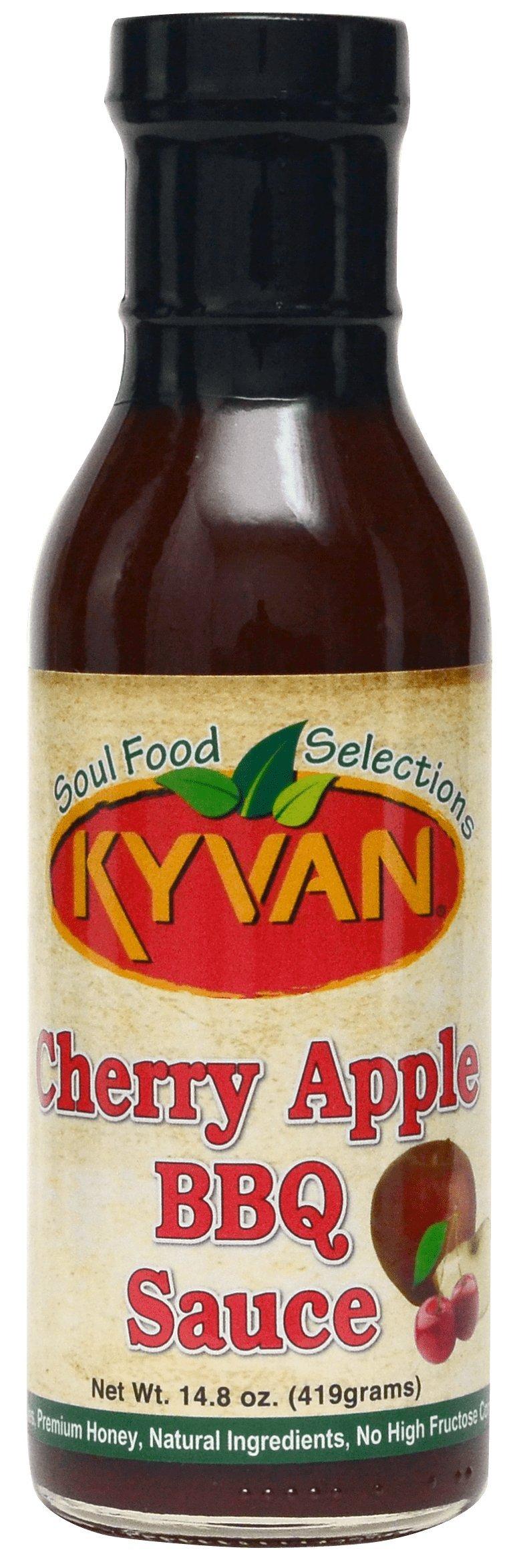 KYVAN Cherry Apple BBQ Sauce - 2 Pack