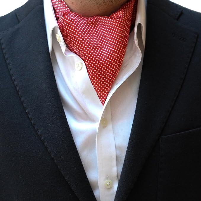 Otto Global Corbata de lujo de algodón de seda para hombre Cravat ...