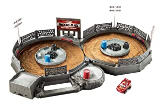 Disney Cars Playset Miniracers,, FLG71 Mattel
