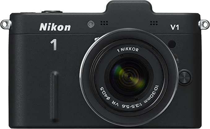 Nikon 1 V1 Systemkamera 3 Zoll Schwarz Inkl 1 Nikkor Vr Kamera