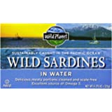 Wild Planet Wild Sardines in Spring Water, 4.375 Ounce Tin (Pack of 12)