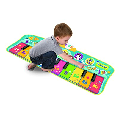 Baby Genius Step To Step Dance Mat: Toys & Games [5Bkhe1901020]
