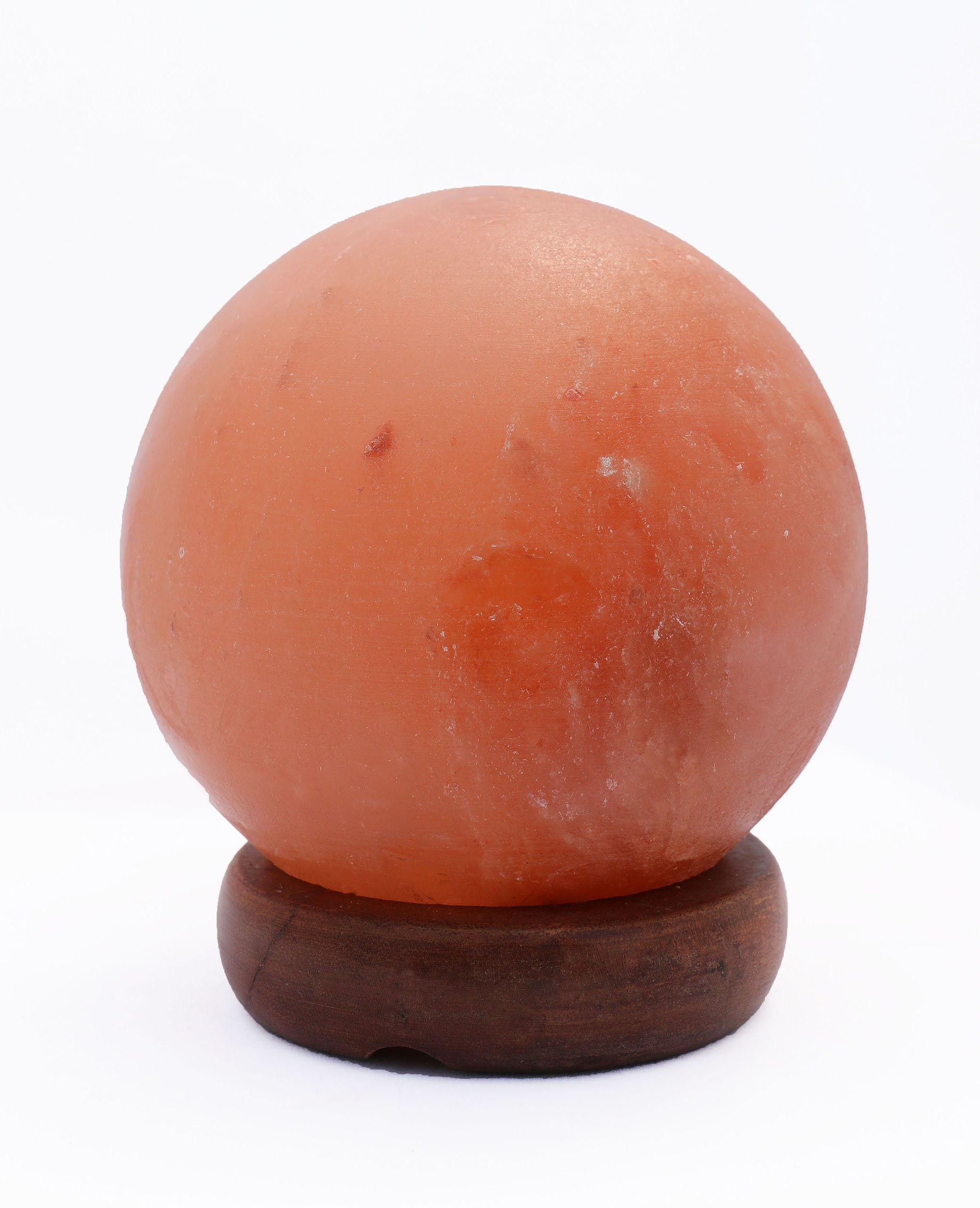 HomeRoots Lighting 5'' Sphere Shaped Himalayan Salt Lamp 1.5 with dimmer