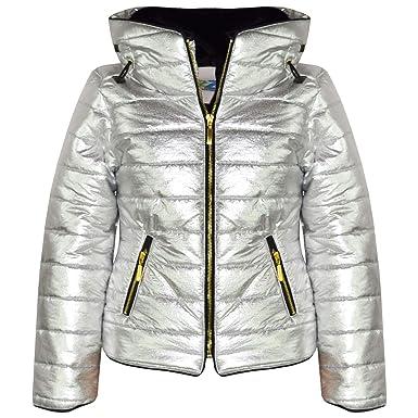d40dfd9a9 A2Z 4 Kids® Kids Girls Jackets Designer's Metalic Foil Padded Puffer ...