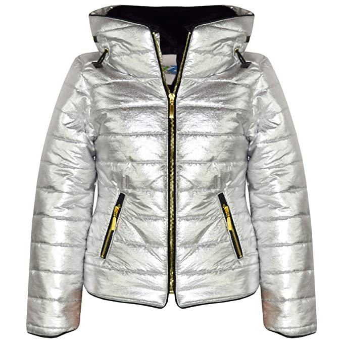 c3a4782dc033 A2Z 4 Kids® Girls Jacket Kids Stylish Padded Puffer Bubble Faux Fur ...