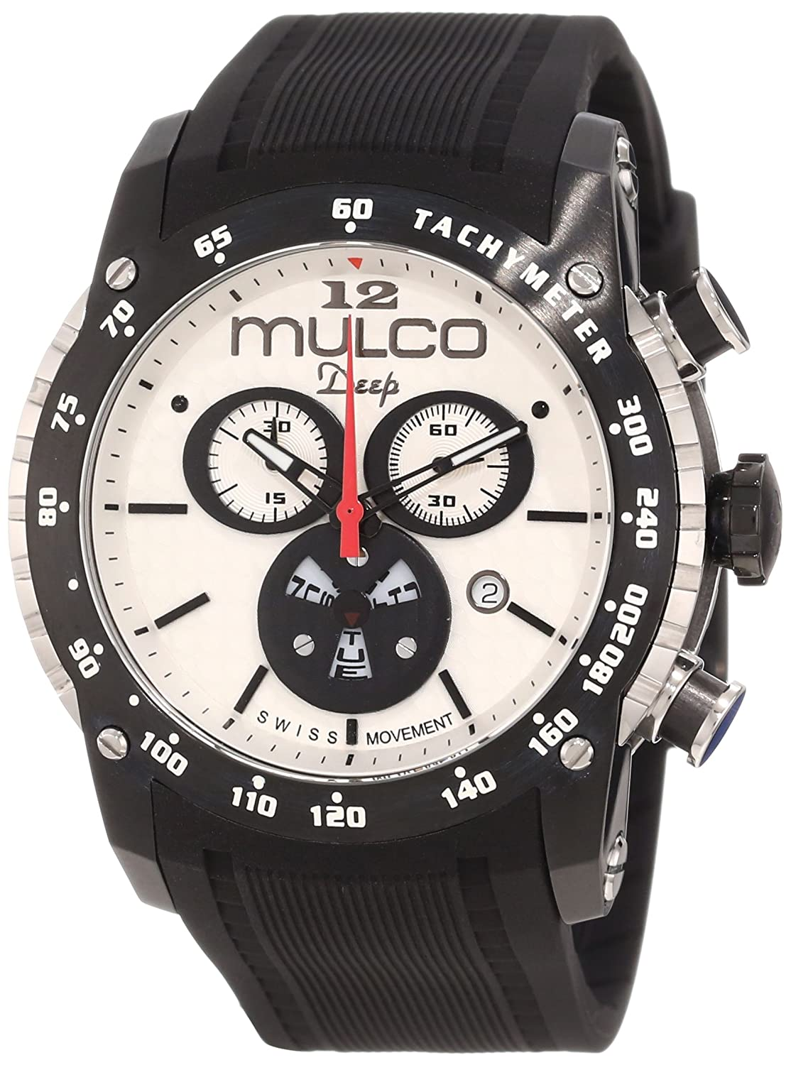 Mulco Unisex MW1-29878-021 Deep Scale Stainless Steel Casual Watch