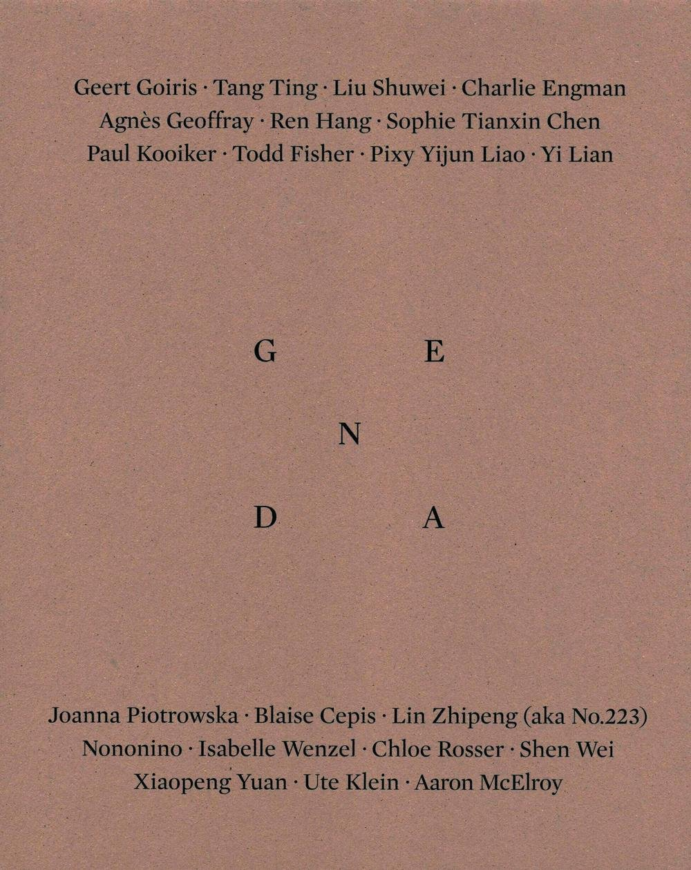 Genda 1 - Body as Packaging ebook