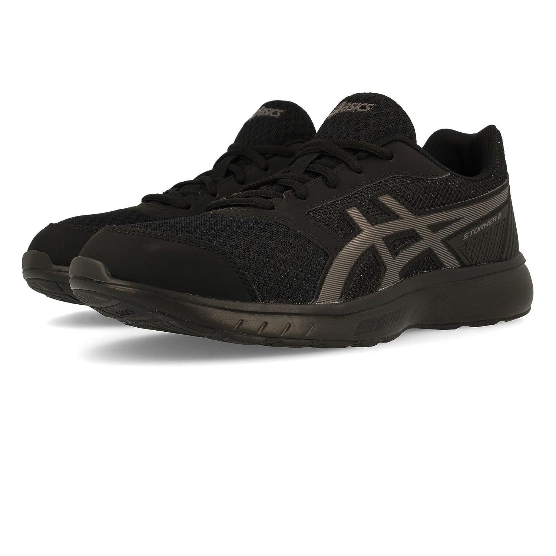 Asics Stormer 2, Zapatillas de Running para Hombre 44.5 EU|Negro (Black/Black 001)