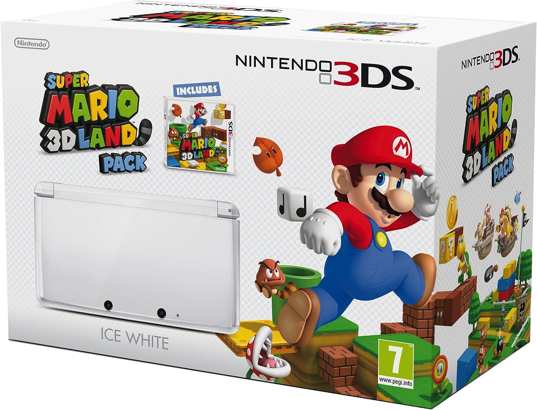 Nintendo 3DS - Color Blanco - Incluye Super Mario 3D Land ...