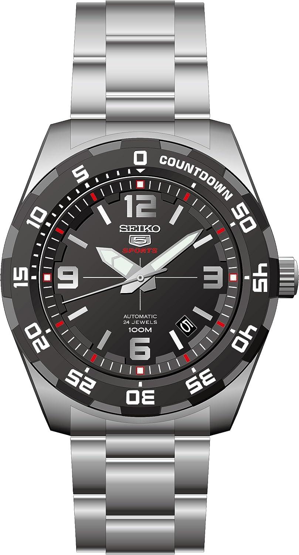 Seiko Reloj Analógico para Hombre de Automático con Correa en Acero Inoxidable SRPB81K1