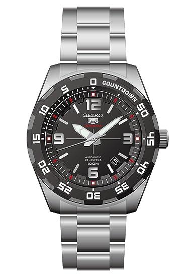Seiko Reloj Analogico para Hombre de Automático con Correa en Acero Inoxidable SRPB81K1: Amazon.es: Relojes