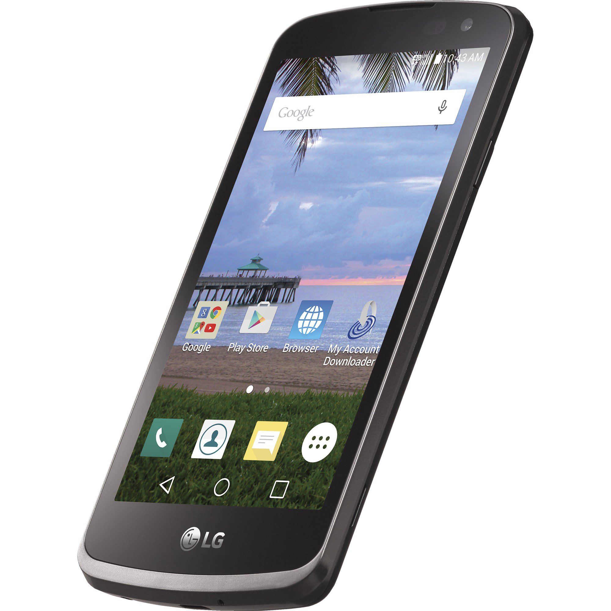 TracFone LG Rebel 4G LTE Prepaid Smartphone - CDMA Variant Handset by TracFone (Image #5)