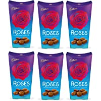 Cadbury Chocolate Roses Carton Box 290G - Pack of 6