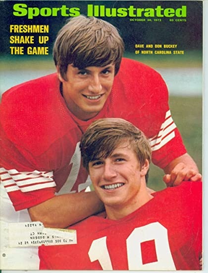 Amazon Com Sports Illustrated October 30 1972 Vol 37 No 18 Dave Buckey And Don Buckey Donovan Hedley Sports Collectibles